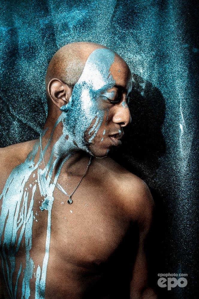 Male model photo shoot of Anthony LaGrange by epo in EPO Studio