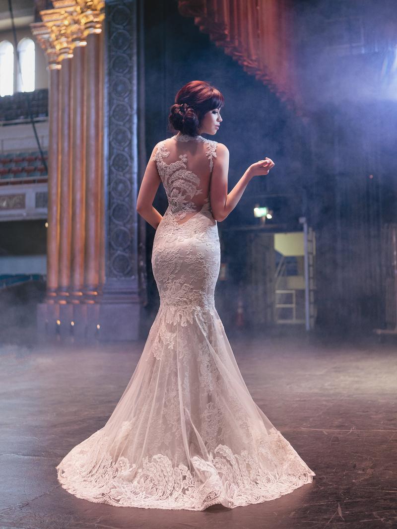 Female model photo shoot of Miosa Couture in Memorial Auditorium