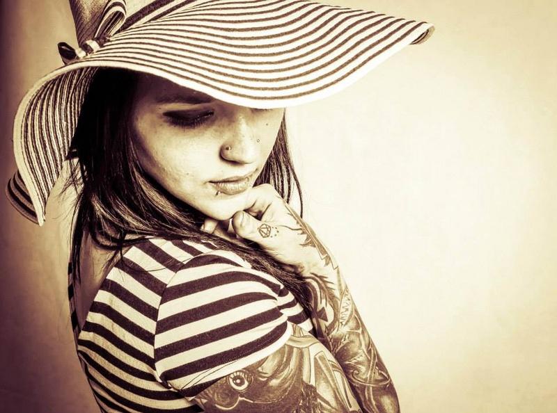 Female model photo shoot of ZOE