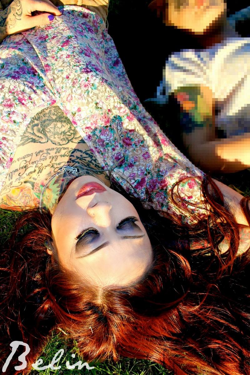 Female model photo shoot of xbelinartistryx