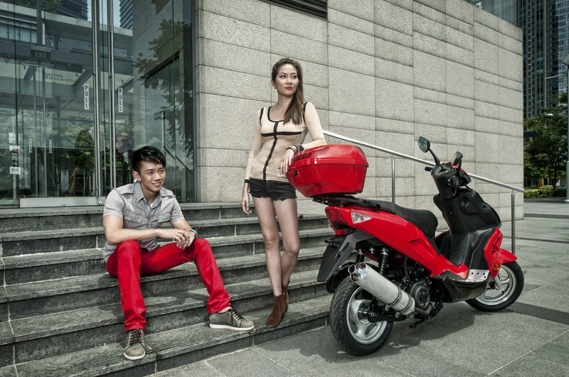 Male model photo shoot of Colin Tan in Singapore