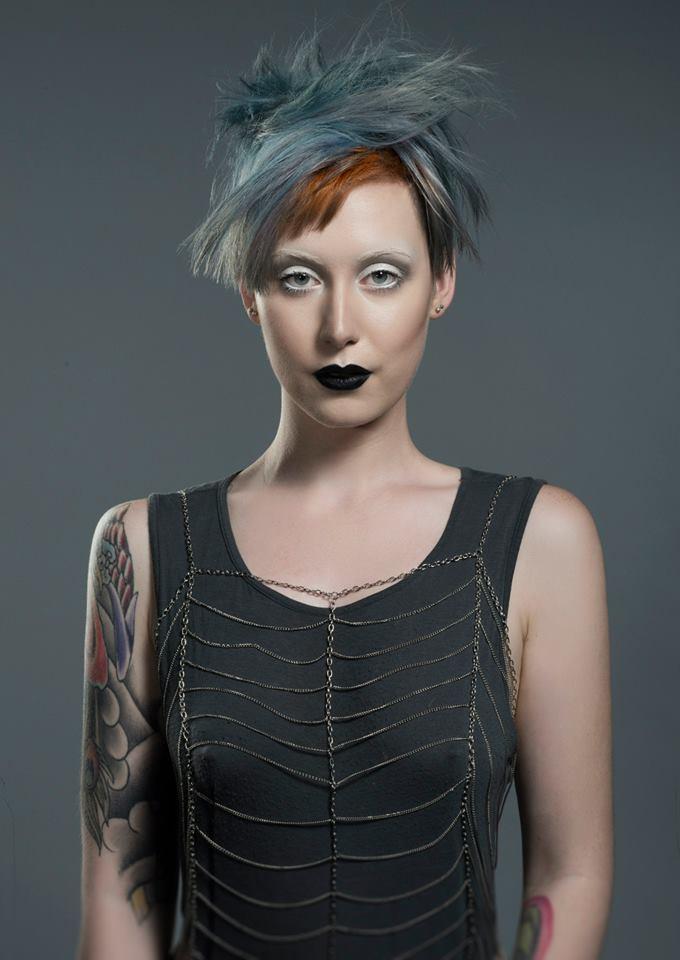 Female model photo shoot of - Abigail - in Photographer : Nick Berardi, hair styled by Mona Cuevas
