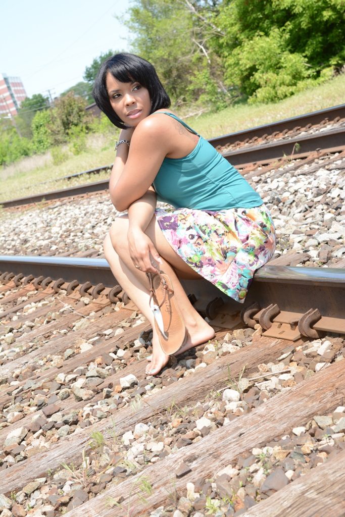 Female model photo shoot of B More You Photography