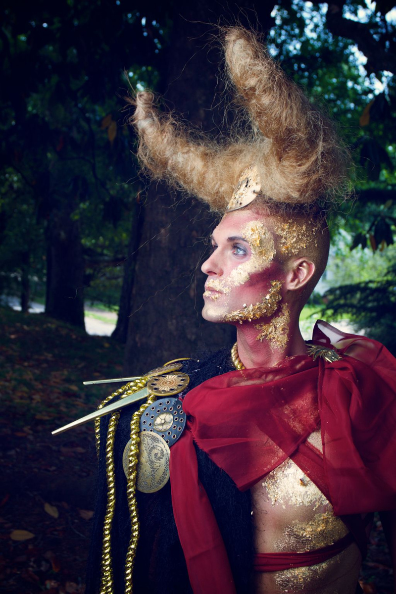 Male model photo shoot of Joshua M Ricker by MyKallea