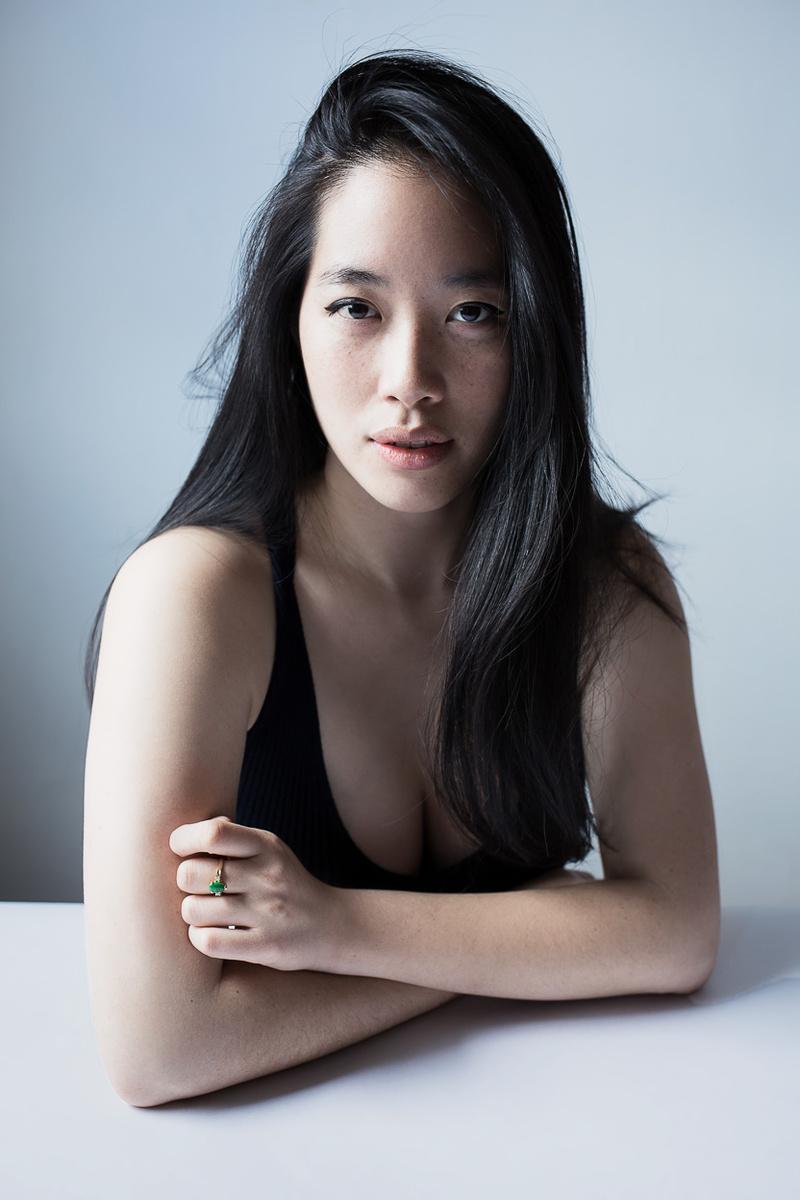 Female model photo shoot of YingHua by zamario in New York