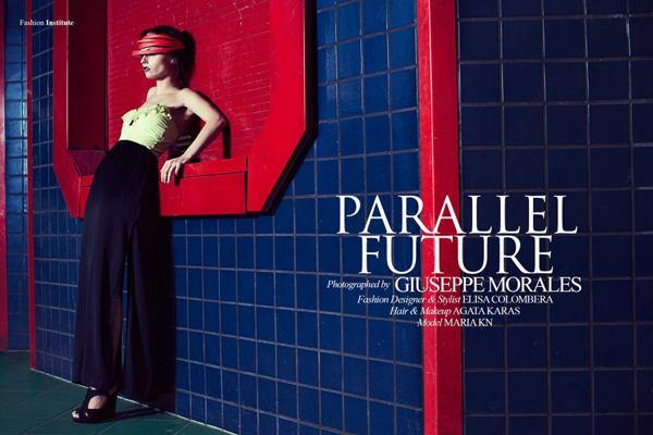 Female model photo shoot of Elisa Col in berlin