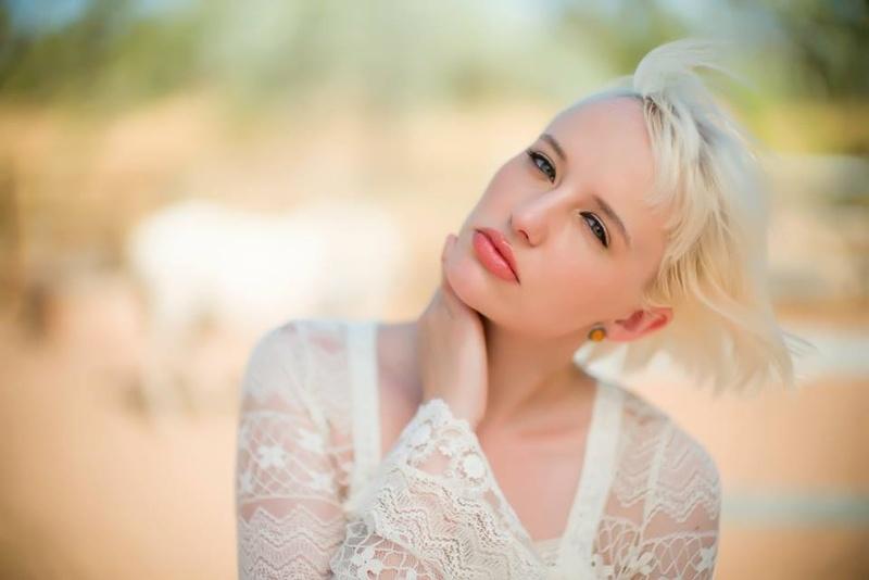 Female model photo shoot of B S B in Home Valley Station, Australia
