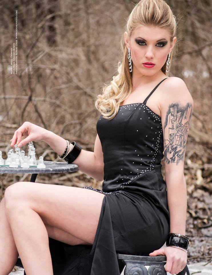 Female model photo shoot of Maili Michelle by PhoenixModelsCa