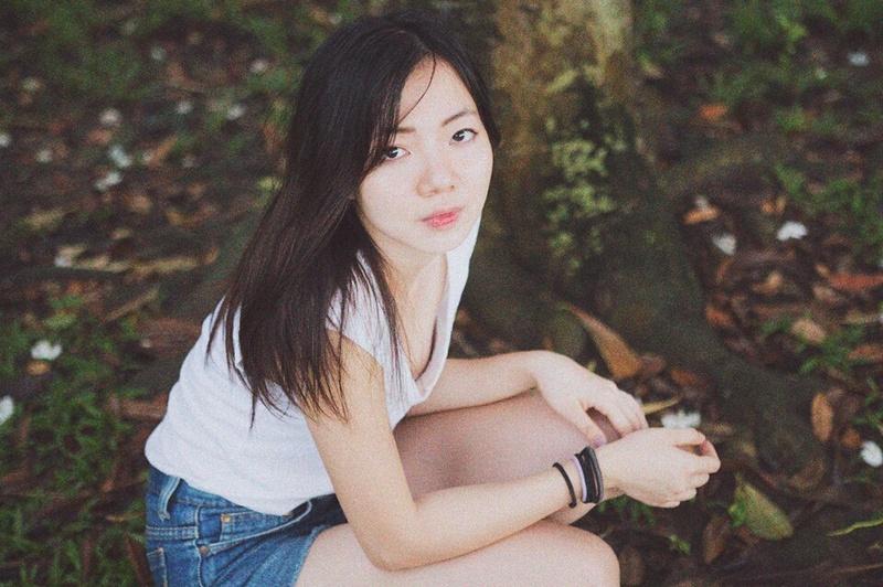 Female model photo shoot of Yiwen in east coast