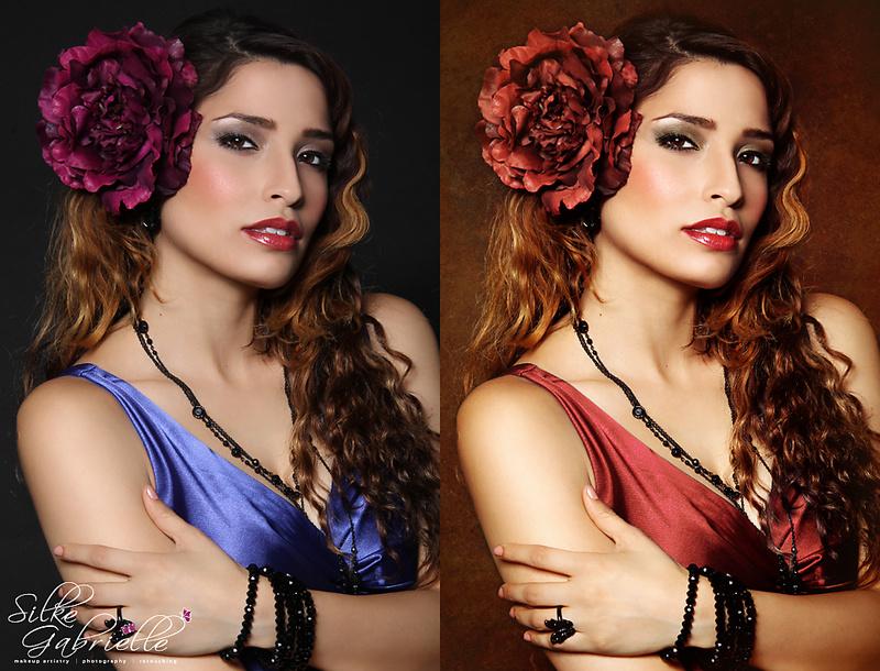 Female model photo shoot of Silke Touch and SteffiW by Silke Gabrielle in Sunnyvale, CA, makeup by Beauty by Silke