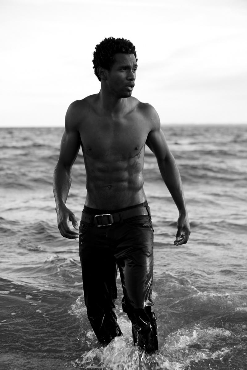Male model photo shoot of Kendrick David Kemp in Coney Island - New York