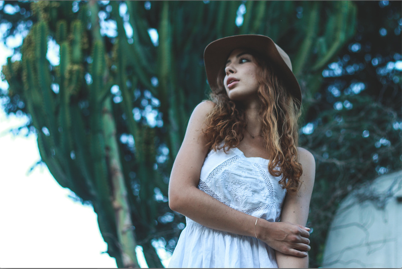 Female model photo shoot of hkatzen in Los Angeles, California