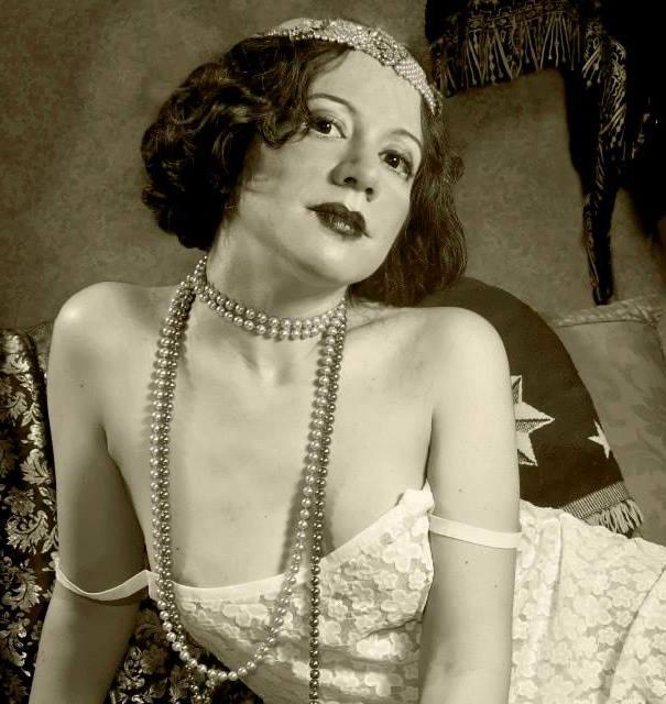 Foto de mi sesión de erotismo vintage con Muriel Dal Bo