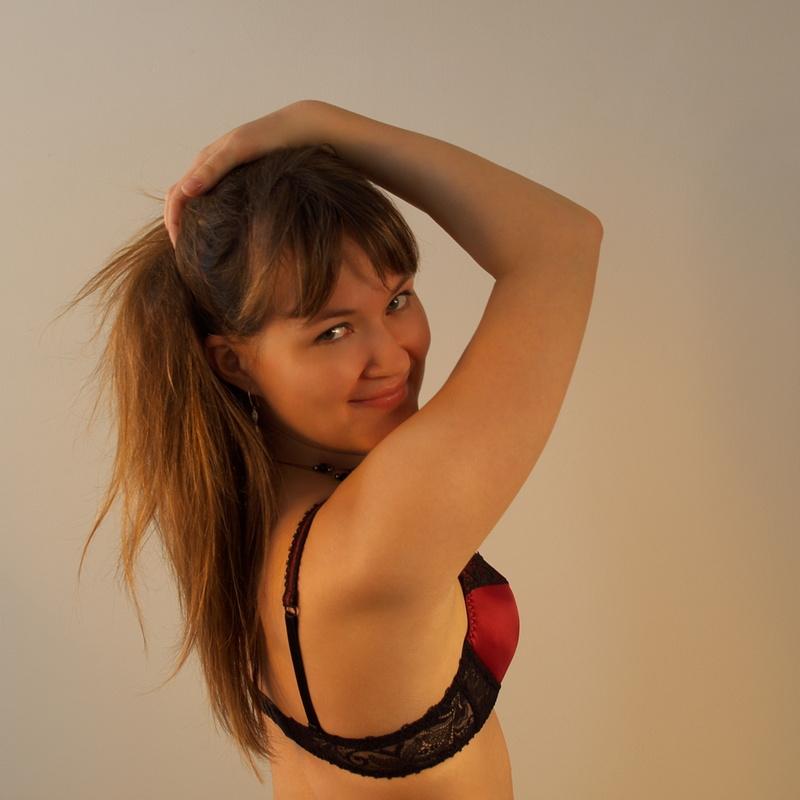Female model photo shoot of KatiaK by Stephen Middleton