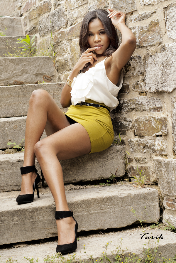 Female model photo shoot of Trini Model