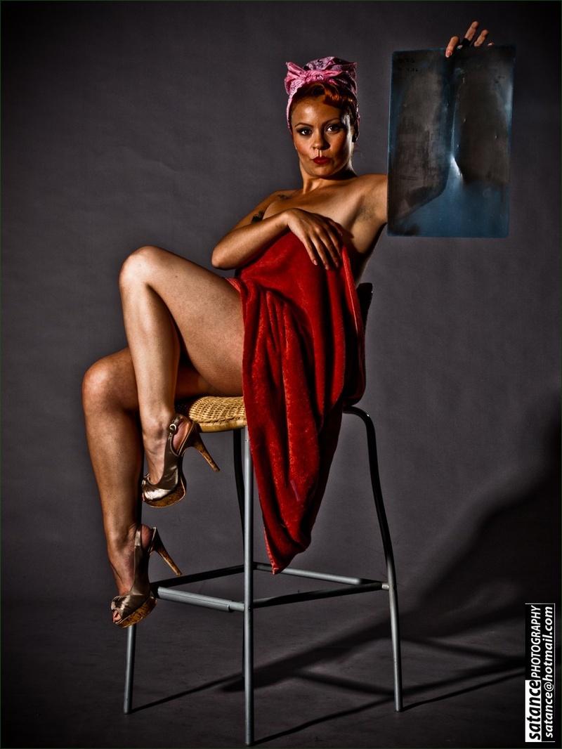Male model photo shoot of salvador atance
