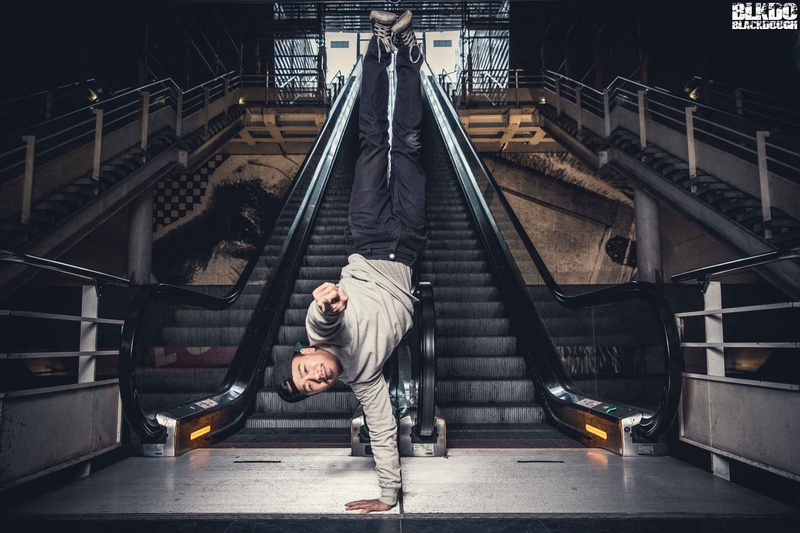 Male model photo shoot of Haze Kware in Strasbourg - Gare centrale