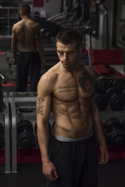 Male model photo shoot of Terin DeVoto