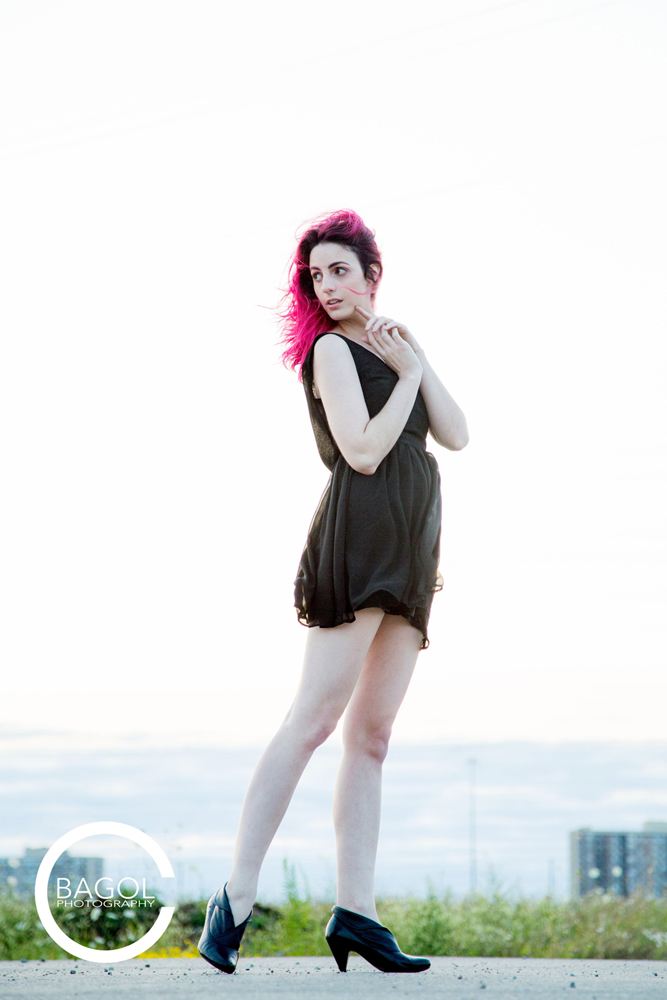 Female model photo shoot of Jenn Esso by Craig Bagol