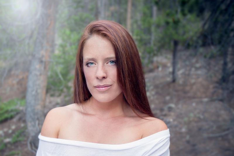 Female model photo shoot of eablaser in Idaho Springs