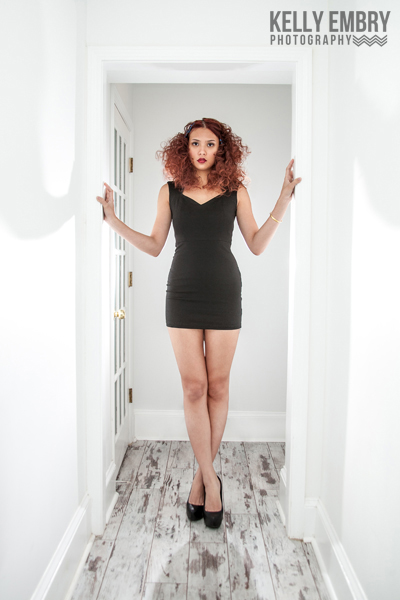 Female model photo shoot of Kelly Embry