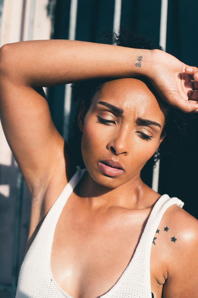 Female model photo shoot of DeAna Fierce in Dallas, Texas