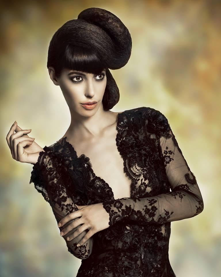 Female model photo shoot of -Debrah-, hair styled by Theogeorgio, wardrobe styled by stylecreative