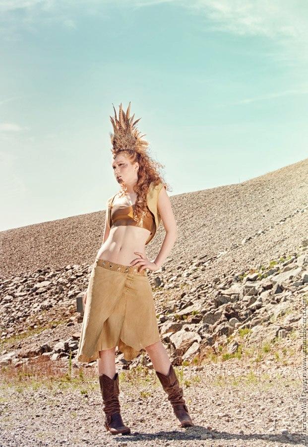 Female model photo shoot of EHT Design