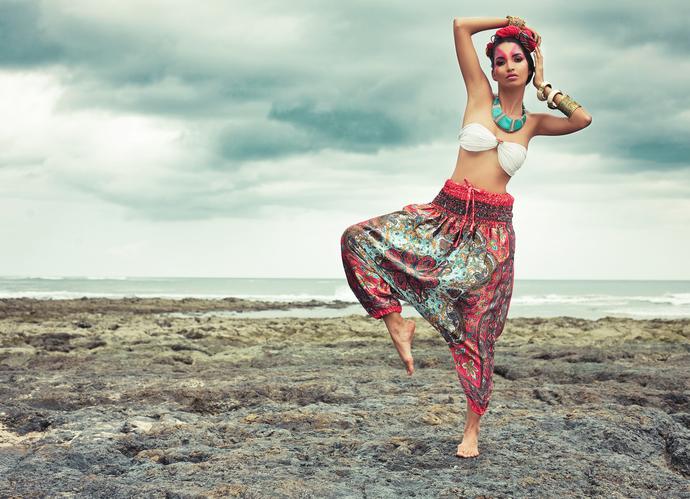 Female model photo shoot of Eli Atuesta in Avellanas, Costa Rica