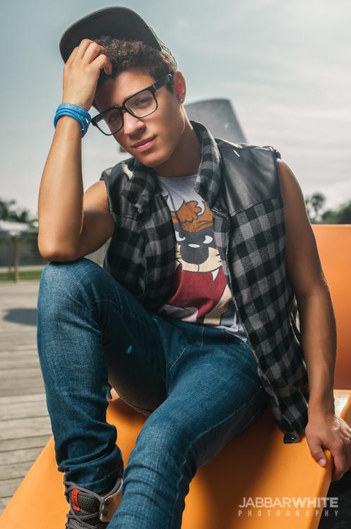 Male model photo shoot of Jabbar White Photo