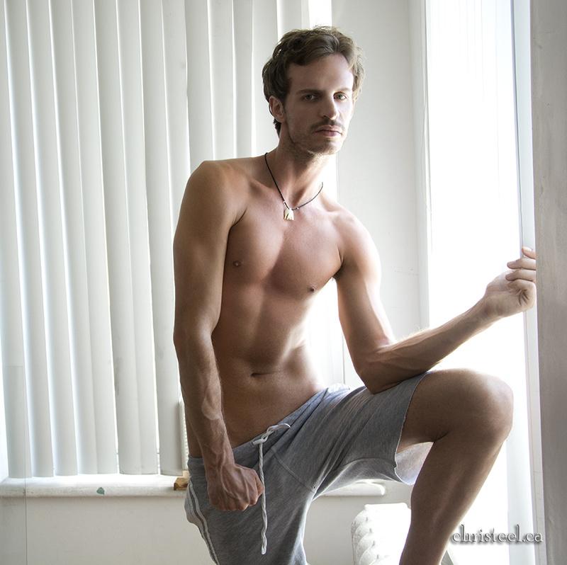 Male model photo shoot of Sean-Michaels by Chris Teel