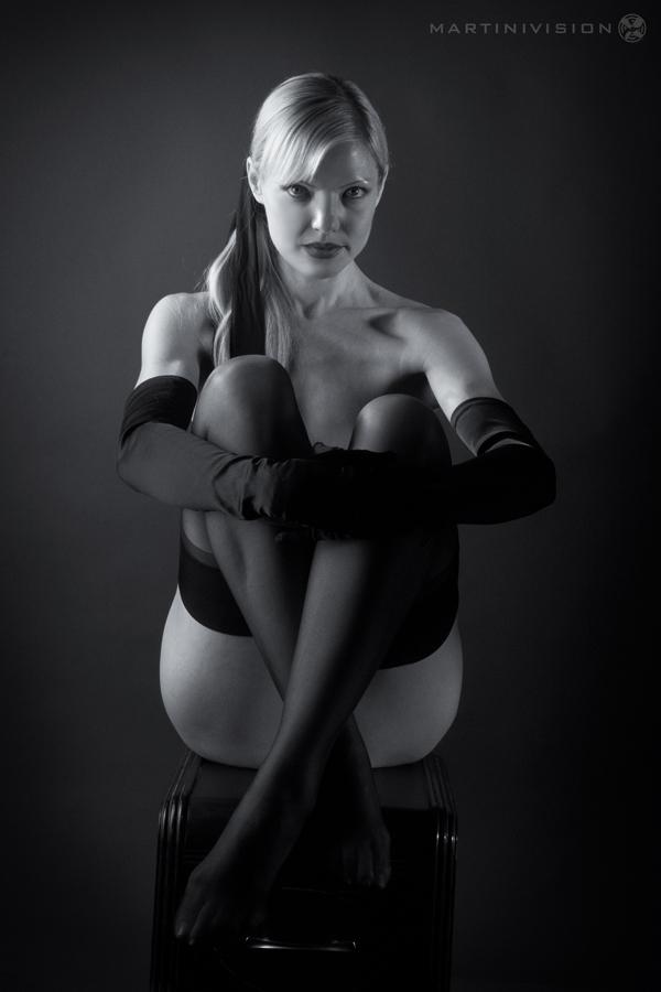 Female model photo shoot of Emily Sophia by MartiniVision in Studio