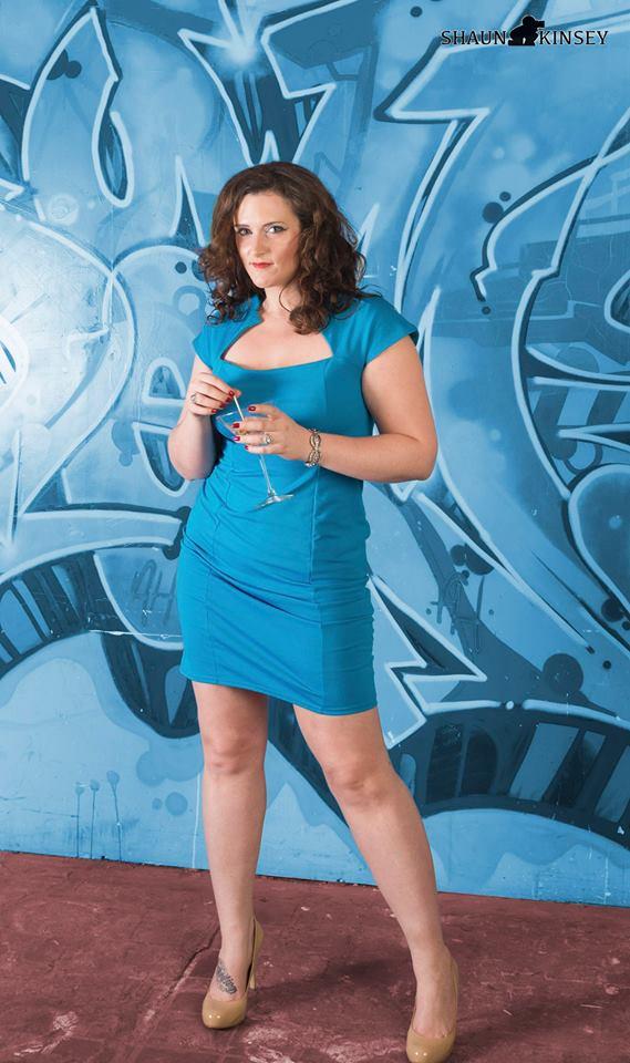 Female model photo shoot of LindsayDyan in Graffiti Warehouse