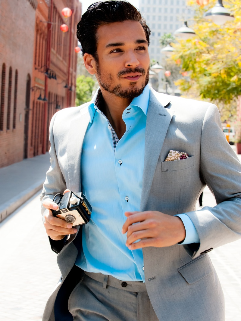 Male model photo shoot of AlanJ Clift Photography in Downtown LA