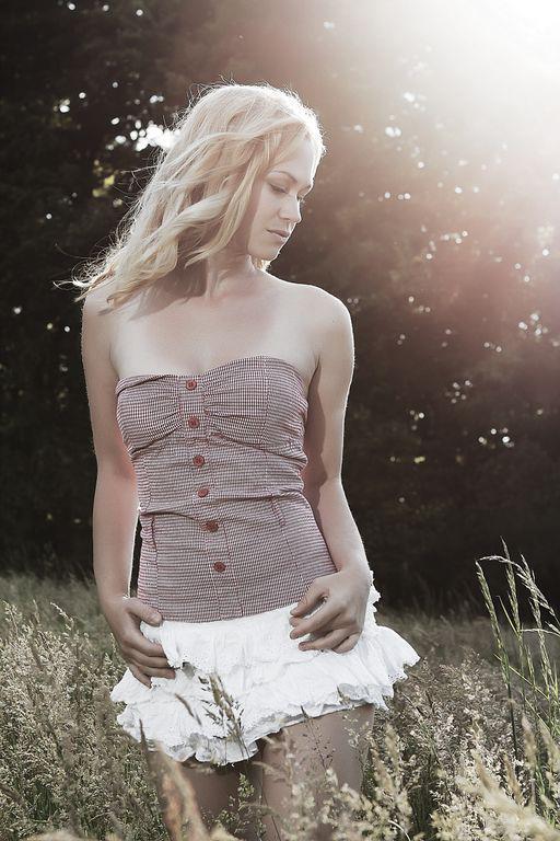 Female model photo shoot of Minet