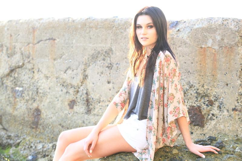 Female model photo shoot of Nicole A Olson in Laguna Beach, CA