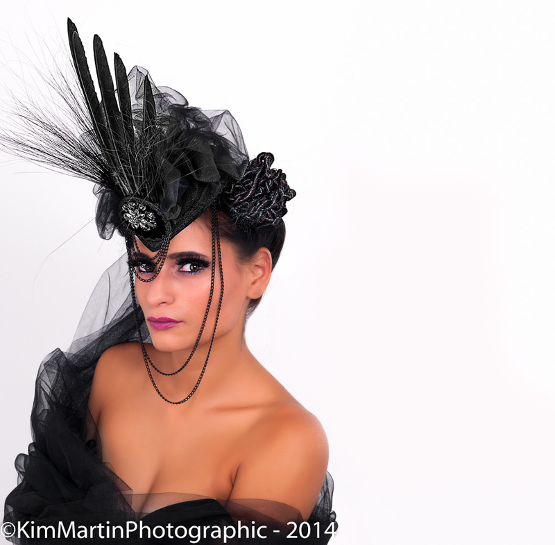 Male and Female model photo shoot of KimMartinPhotographic and Natalye K in Home Studio, makeup by VictoriaRussellMUA