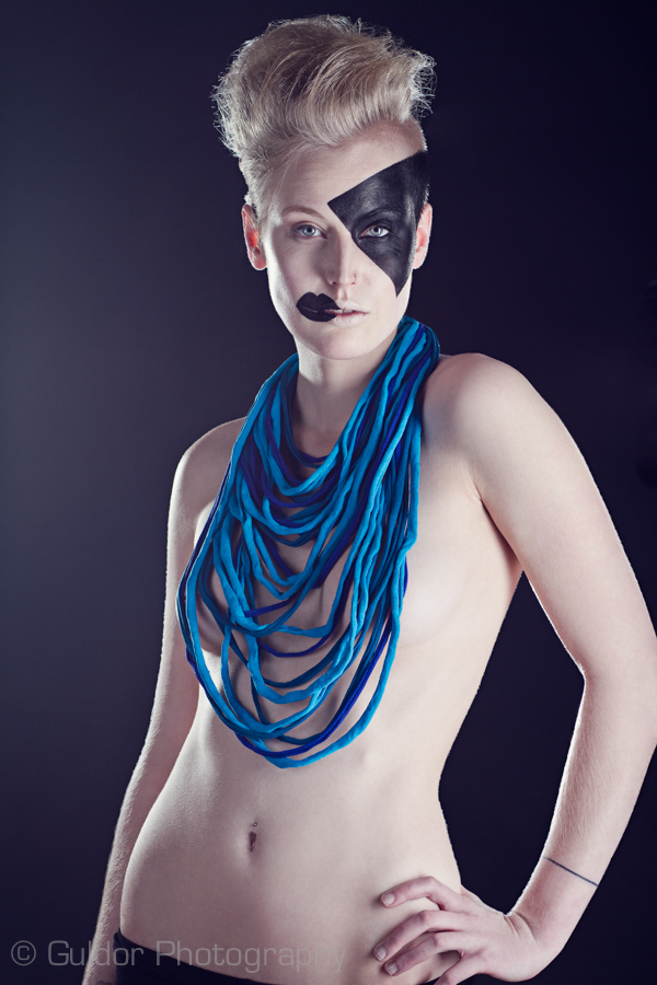 Studio Sep 01, 2014 Guldor Photography / Designer: Robotti Fashion / Model: Roos Langenbach / MUAs: Nienke Bisselink & Kelsy Bremmer Robotti Fashion