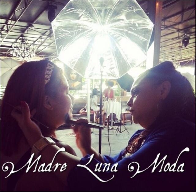 Female model photo shoot of Madre Luna