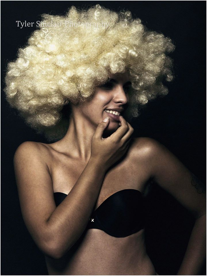 Female model photo shoot of Mina Blue in Lancaster, CA