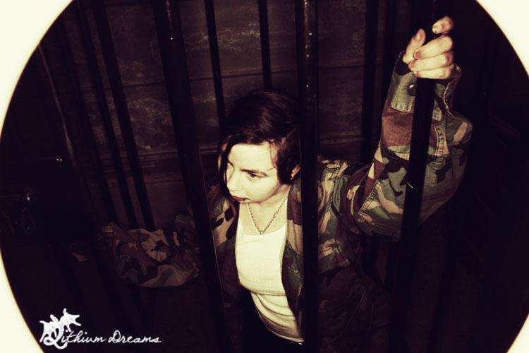 Female model photo shoot of LithiumAura by MorbidDreams in Lithium Dreams Studio