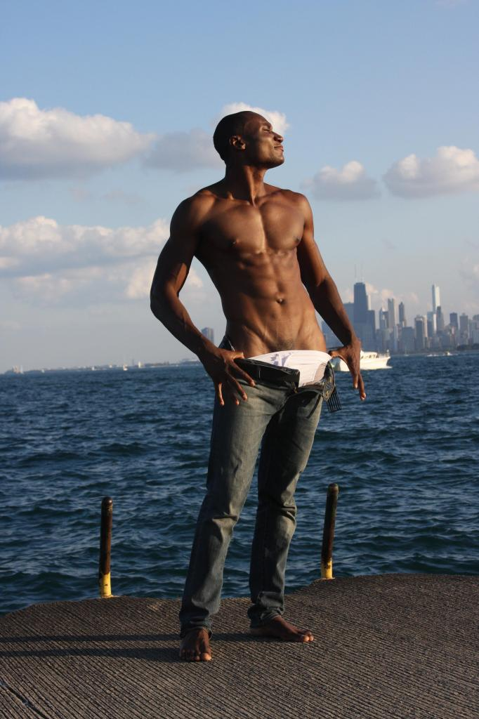 Male model photo shoot of SageMode in Chicago
