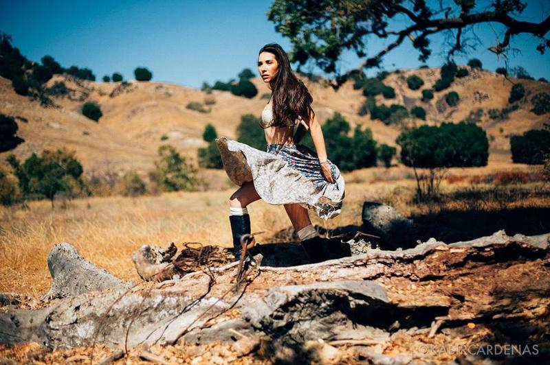 Female model photo shoot of KeiLani Y by Kabir C in Malibu Cyn