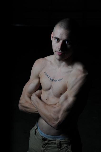 Male model photo shoot of David_Beach