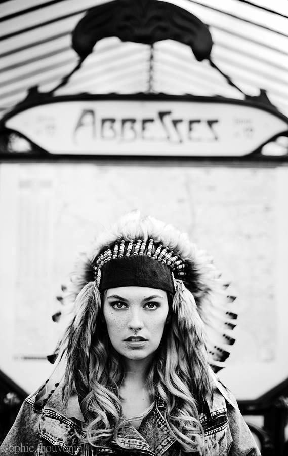 Female model photo shoot of __Marine__ in Paris