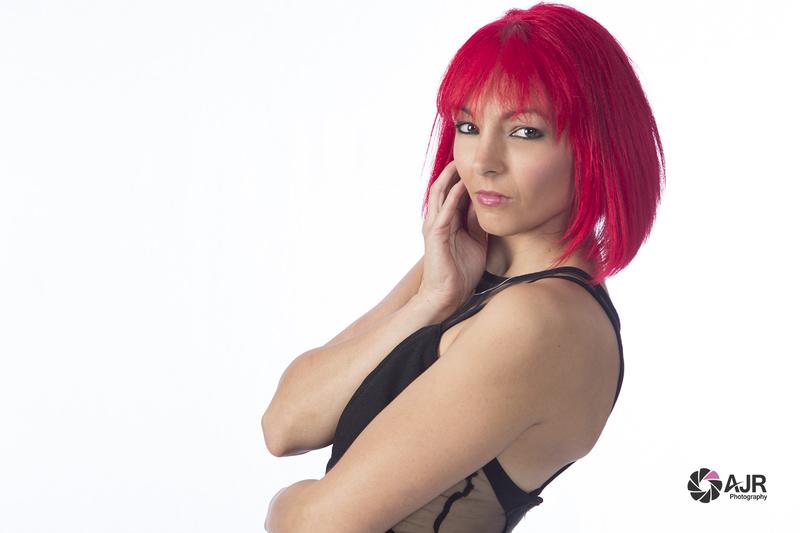 Female model photo shoot of AJR Photography YYC