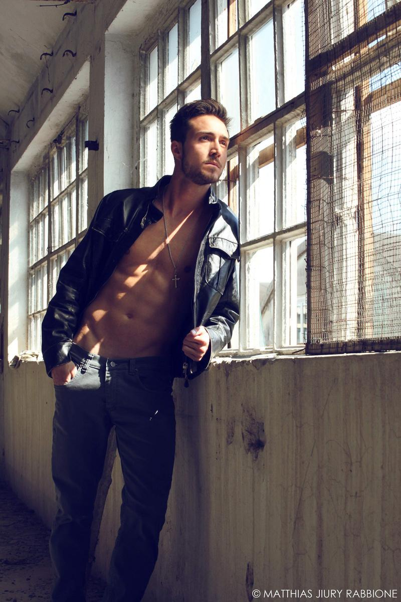 Male model photo shoot of Matthias Rabbione in Cislago, Italy