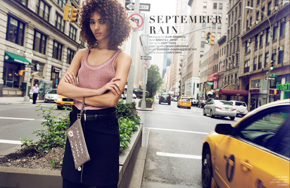 Female model photo shoot of Rebecca L Brent in New York City
