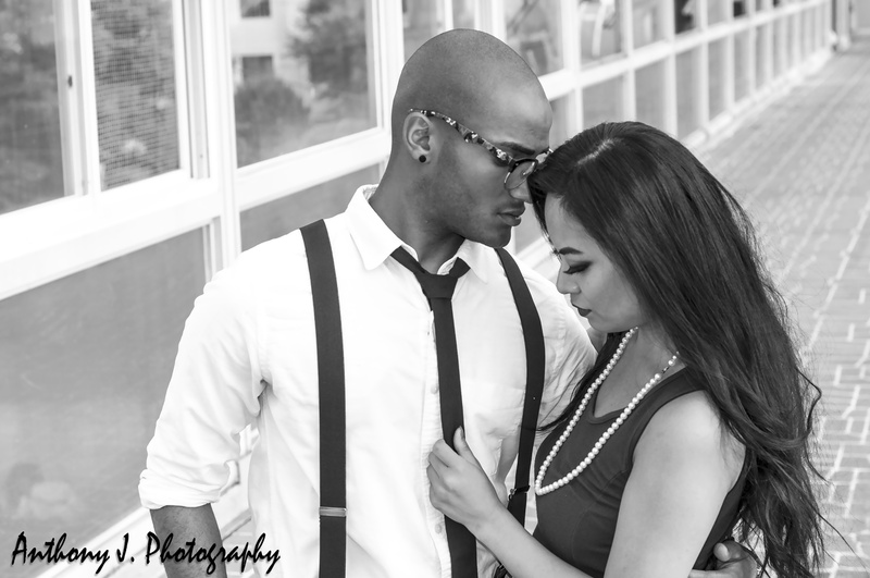 Male and Female model photo shoot of Anthony J. Photography, dashjamarr and Ca8 in Seoul, Korea, makeup by Natalia Che