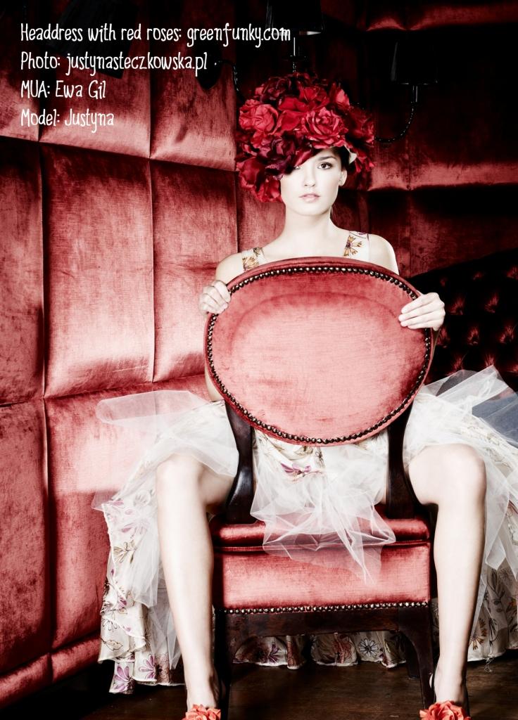 Female model photo shoot of GreenFunky